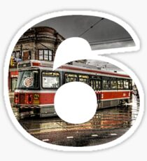 TO streetcar inTOthe6 Sticker