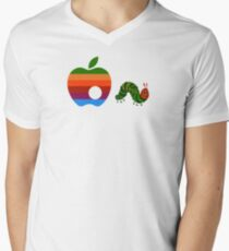 Very Hungry for Apple Men's V-Neck T-Shirt