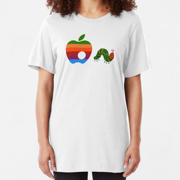 Very Hungry for Apple Slim Fit T-Shirt