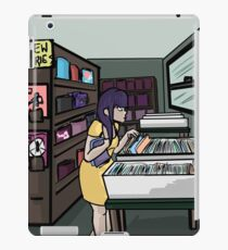theatrics- cecilia at the comic shop iPad Case/Skin