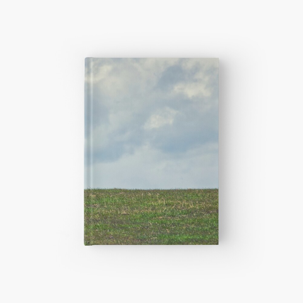 Sheep on the Hill Hardcover Journal