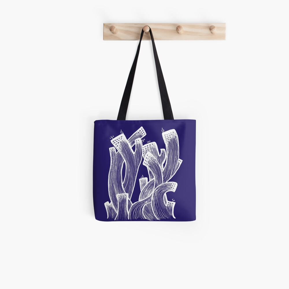 Spiral building Tote Bag