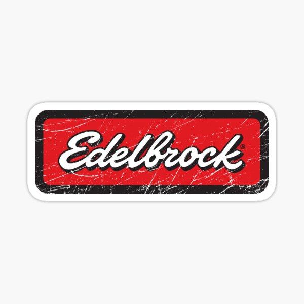 Vintage Edelbrock Sticker