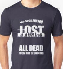 lost ( the spoilerator)   Unisex T-Shirt
