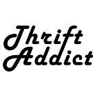 Thrift Addict Thrifting Shopping Shop Addiction Retro Typographic by vintagegoodness