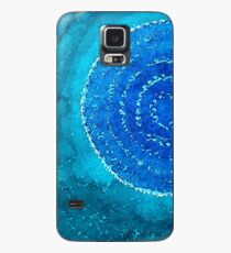 Blue World original painting Case/Skin for Samsung Galaxy