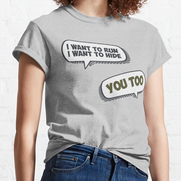 I Want To Run Classic T-Shirt