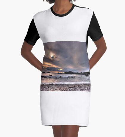 Oregon beaches Graphic T-Shirt Dress