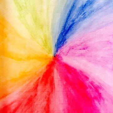 Rainbow Burst by sofiaarvanius