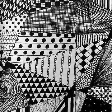 Mono Pattern by sofiaarvanius