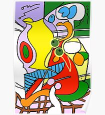 After Picasso Color 1 Poster
