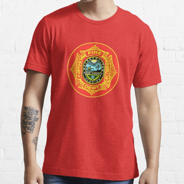 THE MIAMI FIRE DEPARTMENT SHIRT AND STICKER  Essential T-Shirt