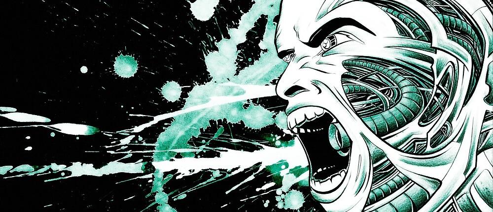 The Scream by Darren Wescombe