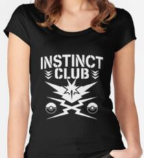 Instinct Club Women's Fitted Scoop T-Shirt