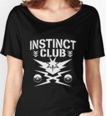 Instinct Club Women's Relaxed Fit T-Shirt
