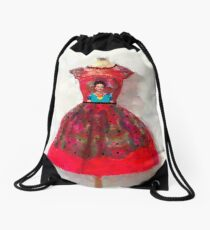 O'h So Frida Drawstring Bag