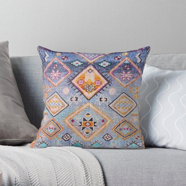Boho Oriental Hippie Moroccan Style  Throw Pillow