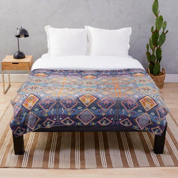 Boho Oriental Hippie Moroccan Style  Throw Blanket