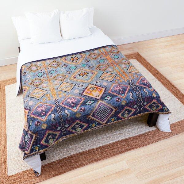 Boho Oriental Hippie Moroccan Style  Comforter
