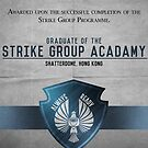 Strike Group Acadamy Graduate Certificate  by Rizwanb