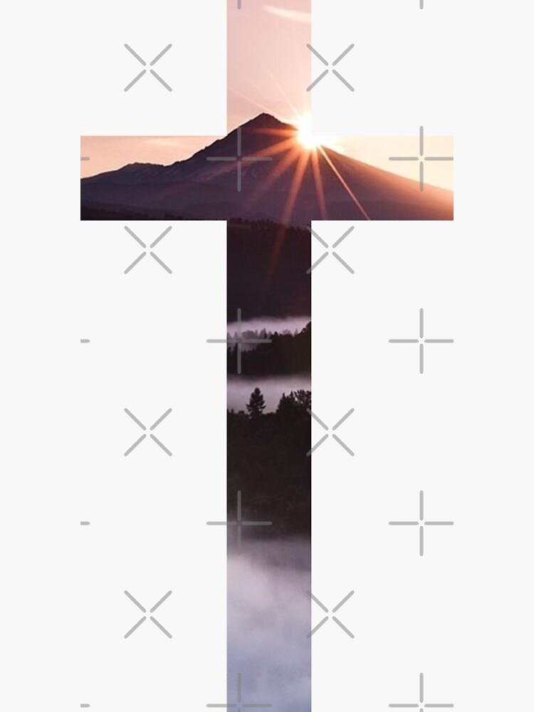Christliches Kreuz von WordsFromHeaven