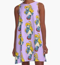 Smurfette by WRTISTIK A-Line Dress