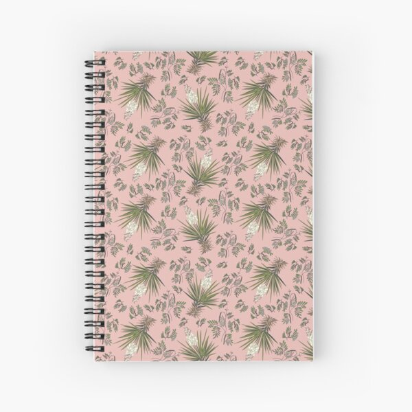 Pink Yucca  Spiral Notebook