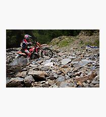 Red Bull Romaniacs enduro race Photographic Print