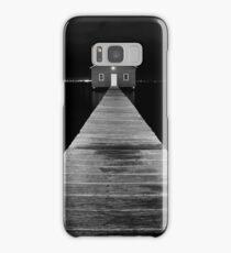 Boat Shed at Night Samsung Galaxy Case/Skin