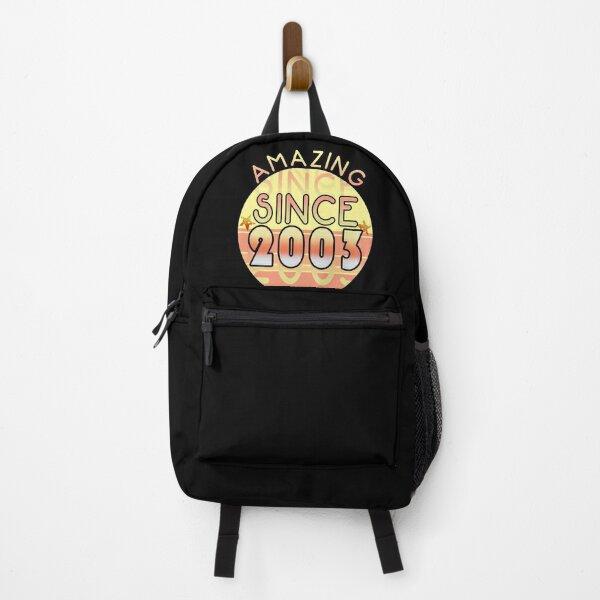 Amazing since 2003 // Sunset Birthday Design Backpack