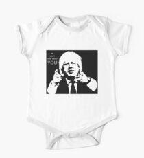 Boris Johnson says what he thinks One Piece - Short Sleeve