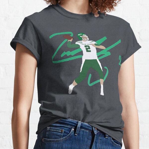 Jets Zach Wilson '#2' Art Classic T-Shirt