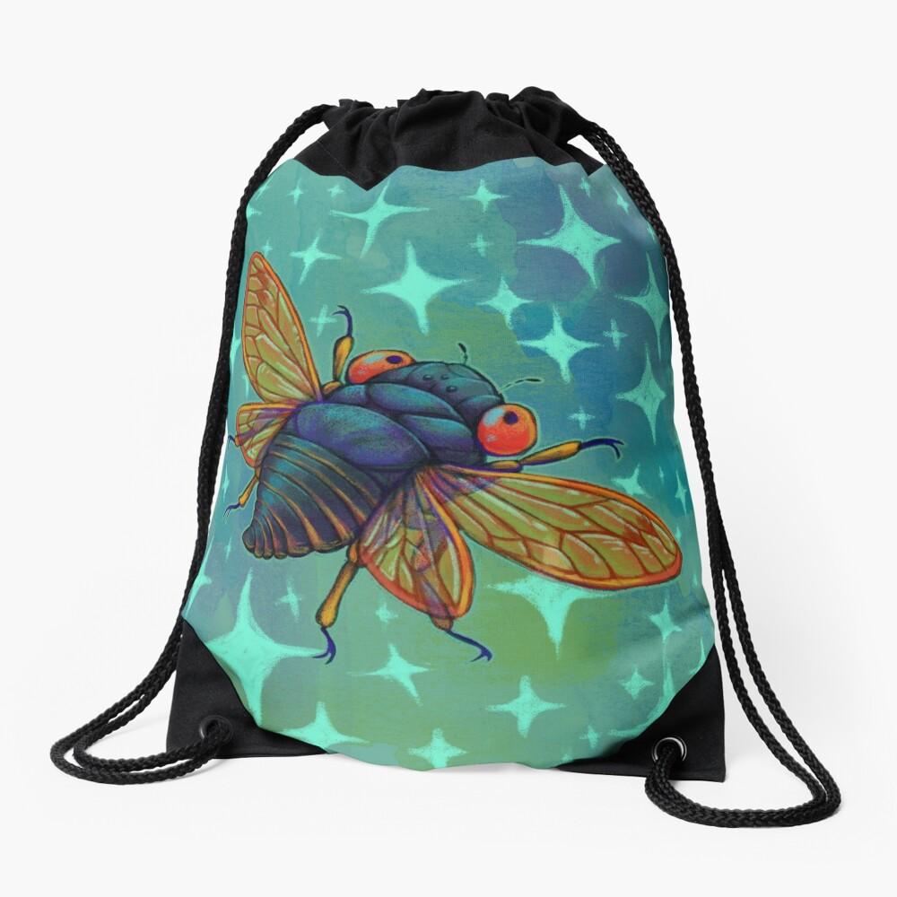 Magicicada Drawstring Bag