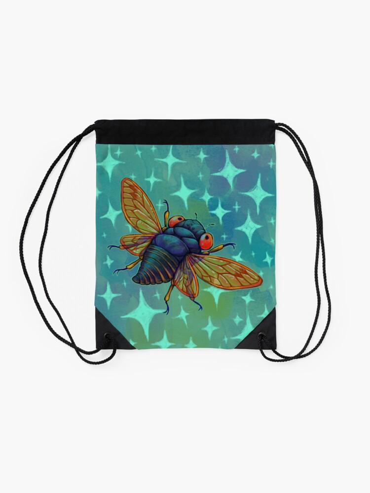 Alternate view of Magicicada Drawstring Bag