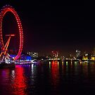 River Thames View at Night by Graham Prentice