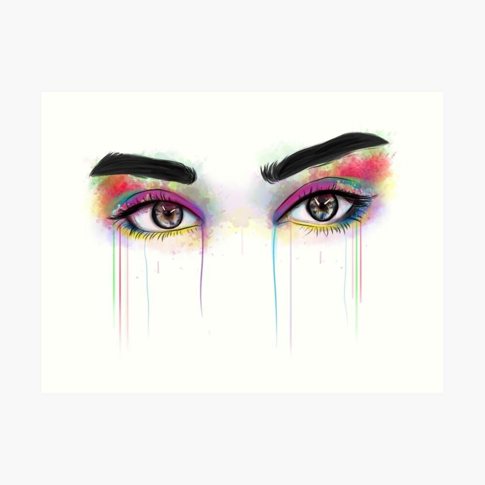 Lauren Jauregui Augen Kunstdruck