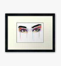Lámina enmarcada Lauren Jauregui Ojos