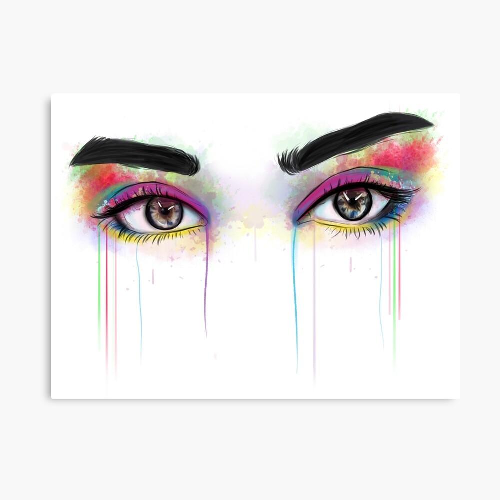 Lauren Jauregui Augen Leinwanddruck