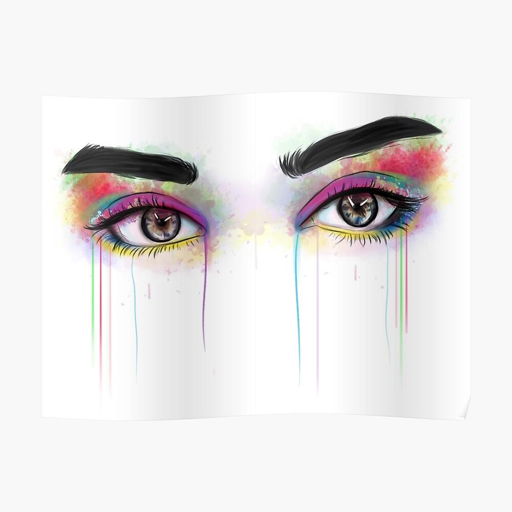 Lauren Jauregui Augen Poster