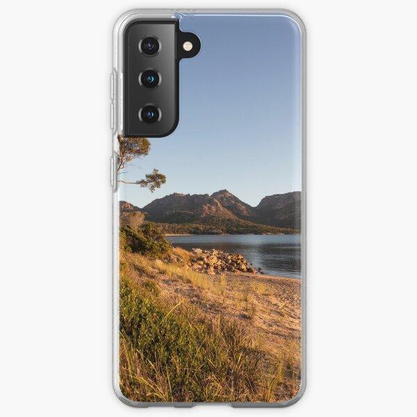 Sunset at Coles Bay Tasmania Samsung Galaxy Soft Case