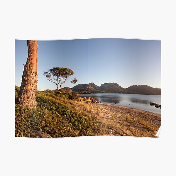 Sunset at Coles Bay Tasmania Poster