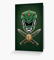 Dragonzord Power - Print Greeting Card