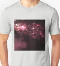 Red Stars - Abstract Fractal Artwork T-Shirt