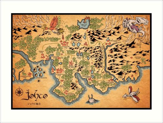 Johto Map\