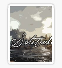 Solitude Sticker