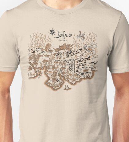Johto Map Unisex T-Shirt