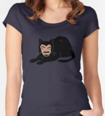 Vlad the Cat (Gray) Women's Fitted Scoop T-Shirt