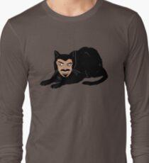 Vlad the Cat (Gray) Long Sleeve T-Shirt