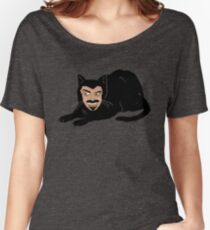 Vlad the Cat (Gray) Women's Relaxed Fit T-Shirt