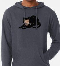 Vlad die Katze (Grau) Leichter Hoodie
